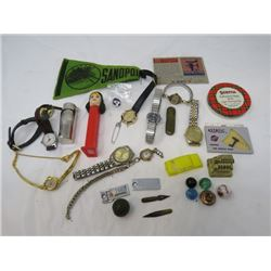 LOT OF JUNK DRAWER ITEMS