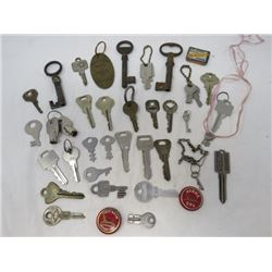 LOT OF KEYS (ANTIQUE)