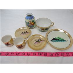 LOT OF JAPANESE CHINA