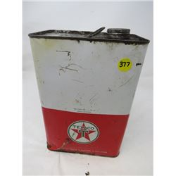 TEXACO OIL CAN (FULL)