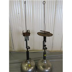 LOT OF 2 COLEMAN LAMPS