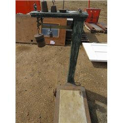 PLATFORM SCALE (WITH WEIGHTS)