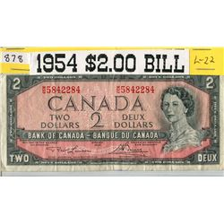 TWO DOLLAR BILL (1954) *CANADA*