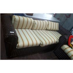 RATAN PATIO COUCH