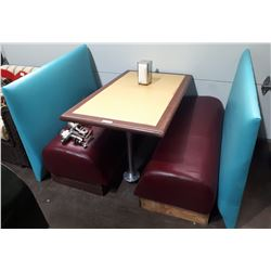 DINER BOOTH END TABLE