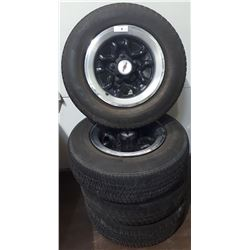 4 CHEVY RALLEY RIMS