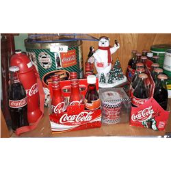 TEN VINTAGE COCA COLA COLLECTIBLES