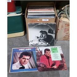 APPROX 65 VINTAGE RECORDS