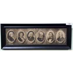 FRAMED PRINT OF THE GREAT MUSICIANS