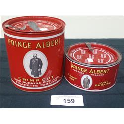 TWO ANTIQUE PRINCE ALBERT TOBACCO TINS