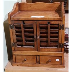 VINTAGE THE SPICE CHEST AM RADIO
