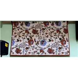 EMBROIDERED WALL TAPESTRY