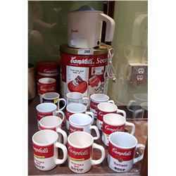 COLLECTION OF CAMPBELL'S SOUP COLLECTIBLES