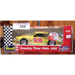 COUNTRY TIME OLDS NO.68 NASCAR DIE CAST