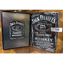 2 COLLECTIBLE JACK DANIELS TINS