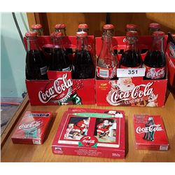 LOT OF COCA COLA COLLECTIBLES