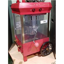 LARGE OLD FASHIONED MOVIE TIME POPCORN MAKER