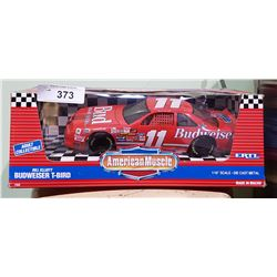 NO.11 BILL ELLIOTT BUDWEISER T-BIRD DIE CAST