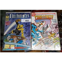 TWO COLLECTIBLE DC COMICS