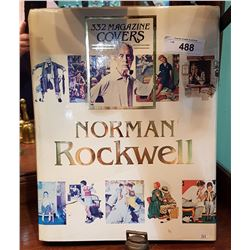 LARGE NORMAN ROCKWELL COFFEE TABLE BOOK