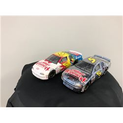 EXCLUSIVE NASCAR COLLECTION! LIMITED EDITION AUTHENTIC RACING COLLECTABLES  1:24 SCALE BRUSHED METAL