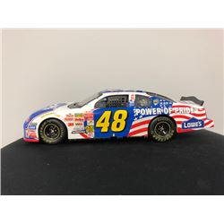 EXCLUSIVE NASCAR COLLECTION! LIMITED EDITION AUTHENTIC RACING COLLECTABLE #48 JIMMIE JOHNSON 1:24 SC