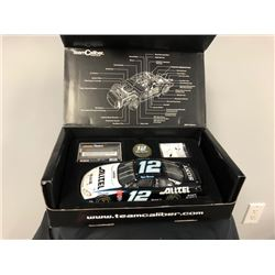 EXCLUSIVE NASCAR COLLECTION! LIMITED EDITION AUTHENTIC RACING COLLECTABLE #12 RYAN NEWMAN 1:24 SCALE