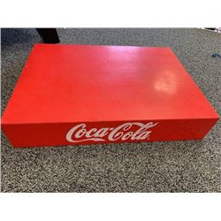 VINTAGE STEEL COCA COLA STACKER CRATE CIRCA 1979