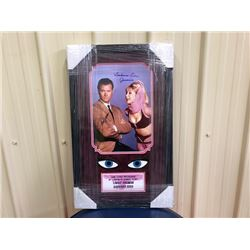 LIMITIED EDITION! SIGNED PHOTOGRAPH OF I DREAM OF JEANNIE. AUTOGRAPHED BY BARBARA EDEN AND LARRY HAG