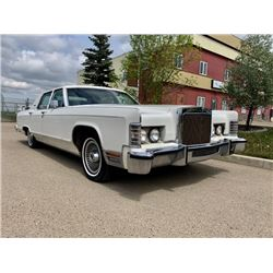 NO RESERVE 1979 LINCOLN CONTINENTAL COLLECTOR SERIES 34000 ACTUAL MILES