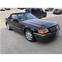 1993 MERCEDES BENZ 300 SL ROADSTER ONLY 20000 MILES