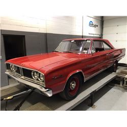 SATURDAY FEATURE REAL DEAL HEMI! 1966 DODGE CORONET 500 426 CID V8 RED ON RED HEMI MATCHING NUMBERS