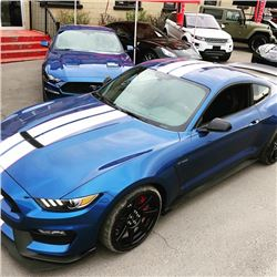 2017 SHELBY GT350 1 OF 3 SHELBYS SELLING EXCLUSIVELY OUT OF COLLECTION ONLY 53 KMS