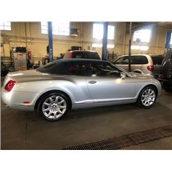 2007 BENTLEY GTC CONVERTIBLE ONLY 46674 MILES