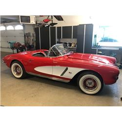 2:30PM SATURDAY FEATURE 1962 CHEVROLET CORVETTE ROADSTER RESTOMOD