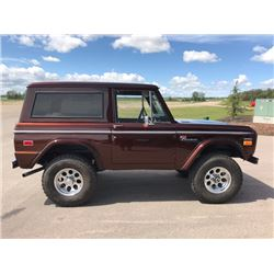 4:30PM SATURDAY FEATURE STUNNING! 1970 FORD BRONCO SPORT