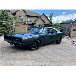 5:00PM SATURDAY FEATURE 1968 DODGE CHARGER PRO TOURING RESTOMOD MUSCLE