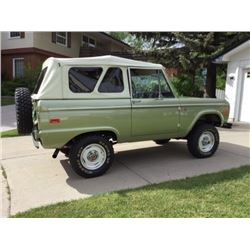 4:00PM SATURDAY FEATURE 1970 FORD BRONCO SPORT CUSTOM
