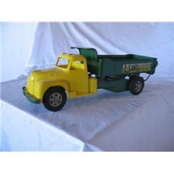 1950s Structo Sand Loader Truck-orginial