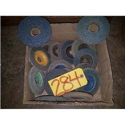 Box of used FlapDisc