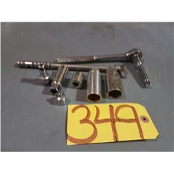"""Ratchet 3/8"""" with tools"""