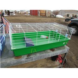 "HAMSTER CAGE (NEW) *38"" X 20"" X 14""* (GREEN)"