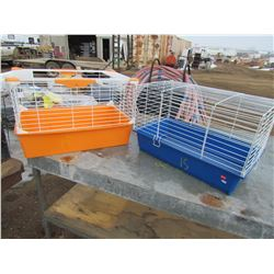 "LOT OF 2 CAGES (DAMAGED) *24"" X 14"" X 16""*"