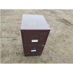 FILING CABINET (2 DRAWER)