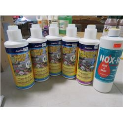 LOT OF 6 ASSORTED WATER CLEANING PRODUCTS (NOS)