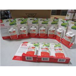 LOT OF 10 BTK INSECTICIDE (NOS)
