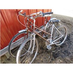 LOT OF 2 BICYCLES (LADIES GLIDER)