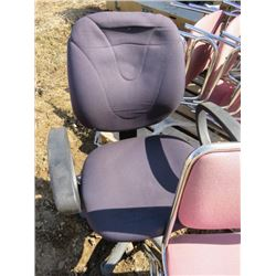 2 PALLETS OF OFFICE CHAIRS (UPHOLSTERED, WOODEN)
