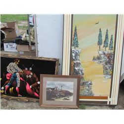 LOT OF 3 LARGE PICTURES