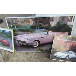 LOT OF 3 CAR PICTURES
